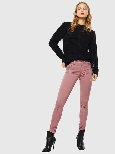 Diesel - D-Roisin 0096H, Pink - Jeans - Image 4