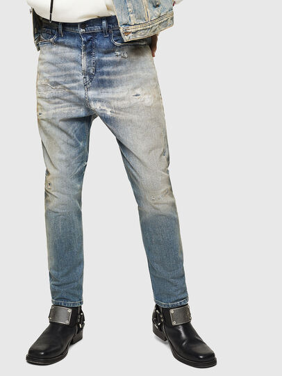 Diesel - D-Vider 084AQ, Light Blue - Jeans - Image 1