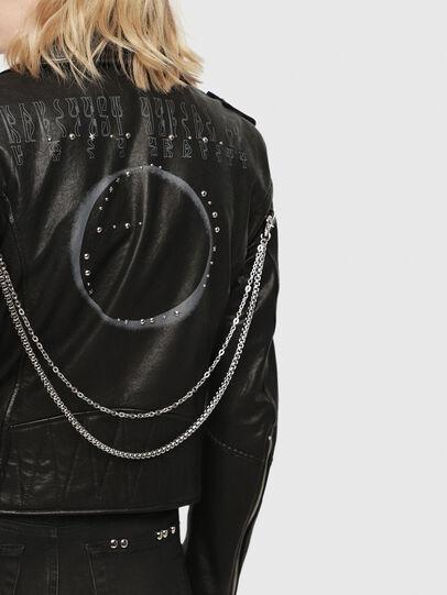 Diesel - SE-LENE,  - Leather jackets - Image 4