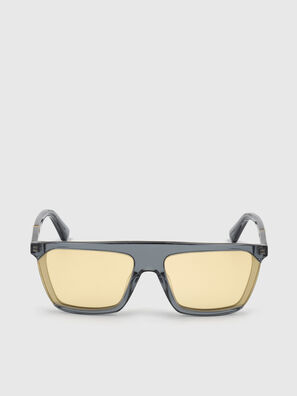 DL0323, Black/Yellow - Sunglasses