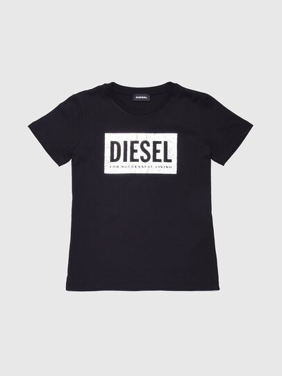Diesel - TFOIL, Black - T-shirts and Tops - Image 1
