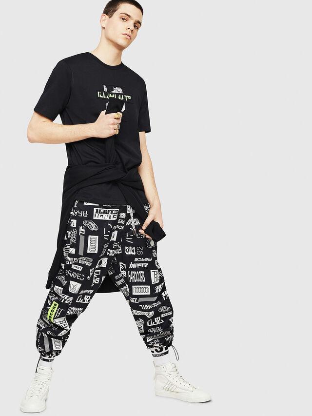 Diesel - T-JUST-Y23, Black - T-Shirts - Image 4
