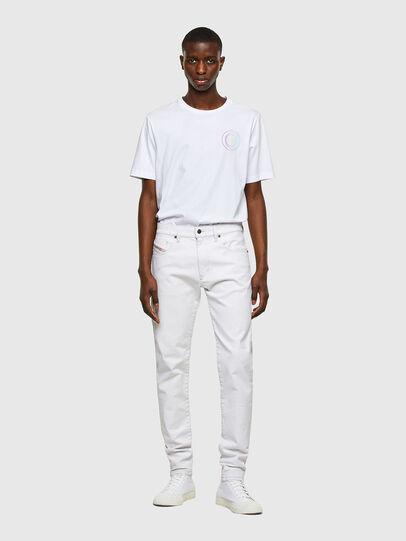 Diesel - D-Strukt 003AF, White - Jeans - Image 5