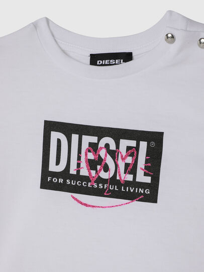 Diesel - TRIDGEB, White - T-shirts and Tops - Image 3