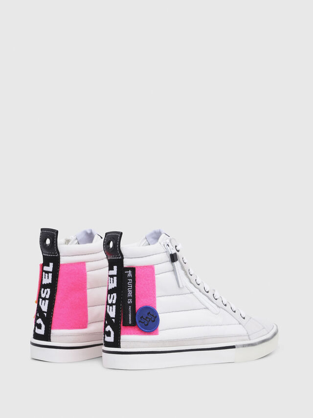Diesel - D-VELOWS MID PATCH W, White - Sneakers - Image 3