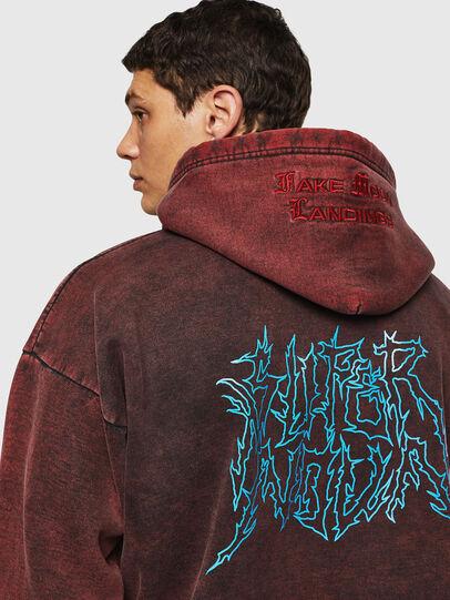 Diesel - S-ALBY-ACID, Bordeaux - Sweaters - Image 5