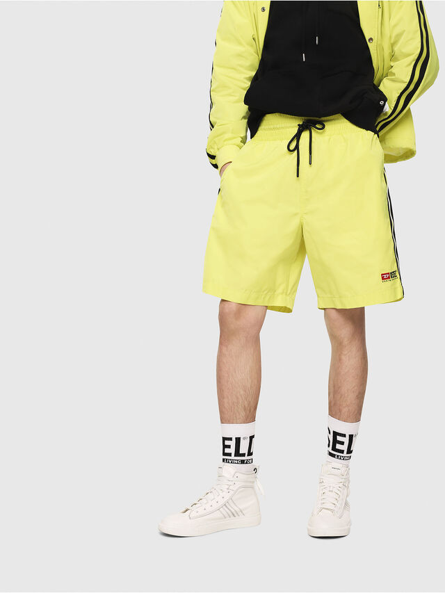 Diesel - P-BOXIE, Yellow Fluo - Shorts - Image 1