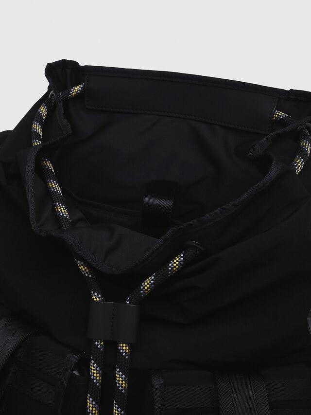 Diesel - M-CAGE BACK, Black/Silver - Backpacks - Image 3