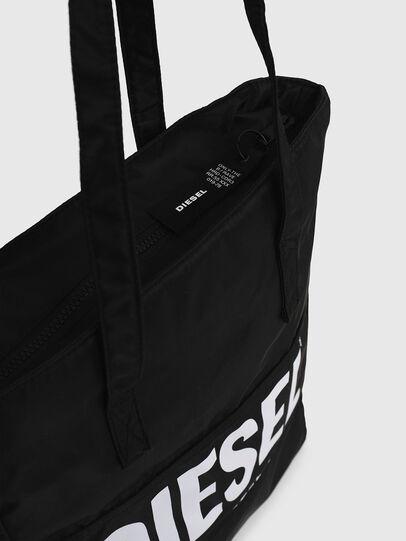 Diesel - BBAG-TOTE, Black - Beachwear accessories - Image 4