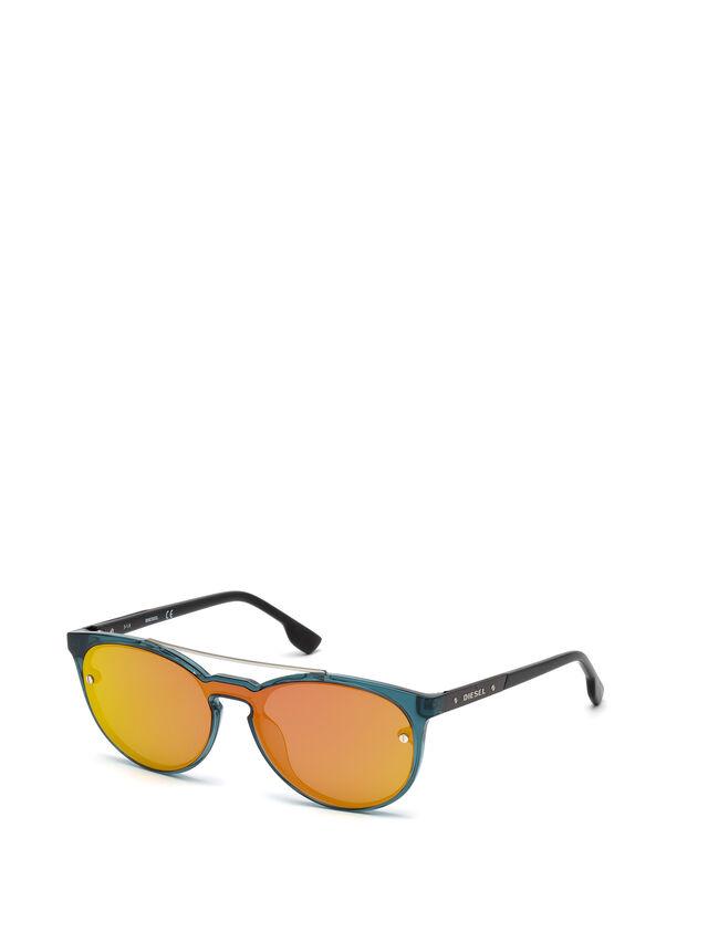 DL0216, Blue/Orange