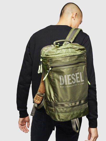 Diesel - MALU, Olive Green - Backpacks - Image 7