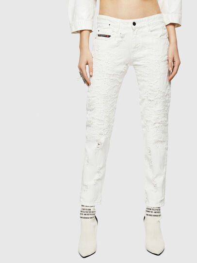 Diesel - D-Rifty 069GY, White - Jeans - Image 1