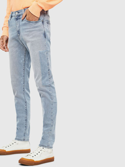 Diesel - D-Strukt 009BP, Light Blue - Jeans - Image 5