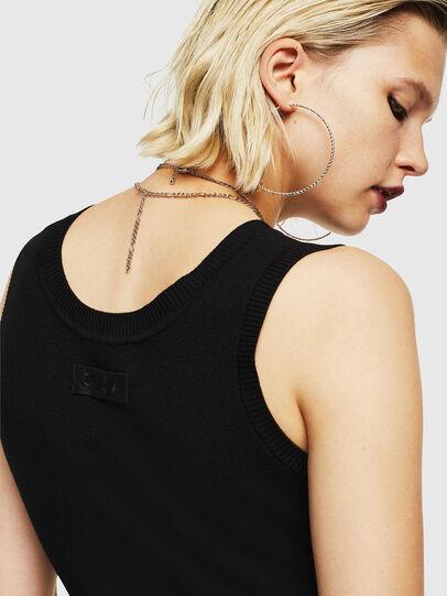 Diesel - M-LINA, Black - Dresses - Image 5