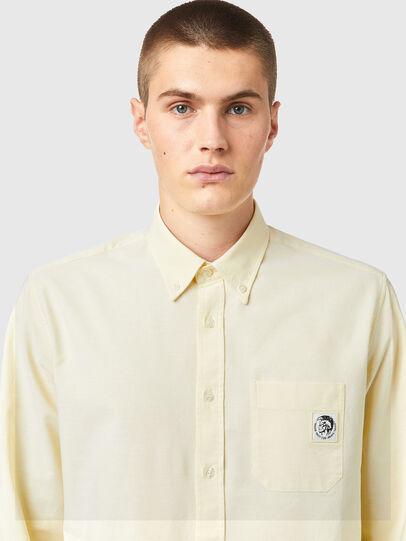 Diesel - S-JAMES-B, Yellow - Shirts - Image 3