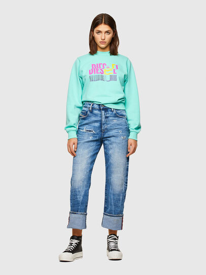 Diesel - F-ANG-K14, Light Blue - Sweaters - Image 4