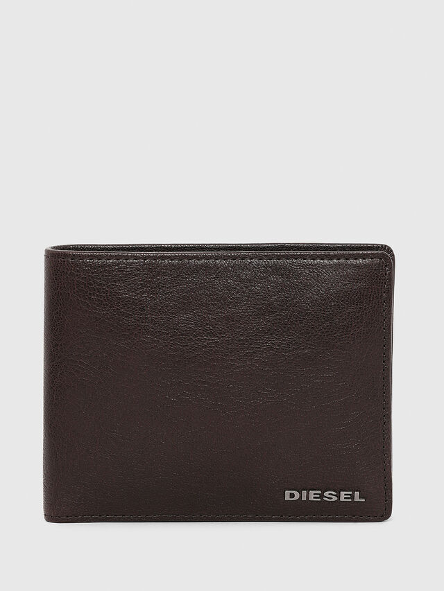 Diesel - HIRESH, Brown - Small Wallets - Image 1