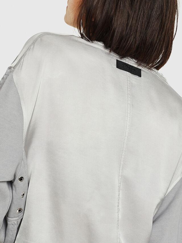 Diesel - F-EVIE, Light Grey - Sweaters - Image 4