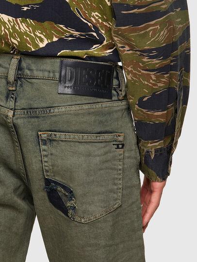Diesel - D-Strukt 09A50, Military Green - Jeans - Image 3