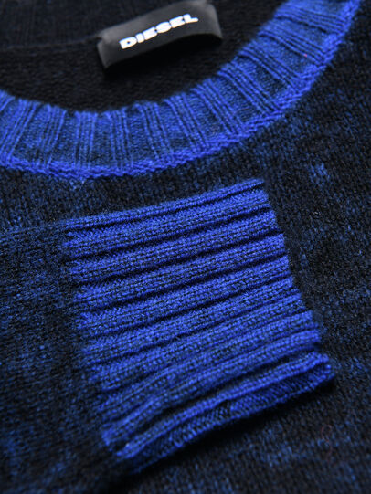 Diesel - KCONF, Black/Blue - Knitwear - Image 3