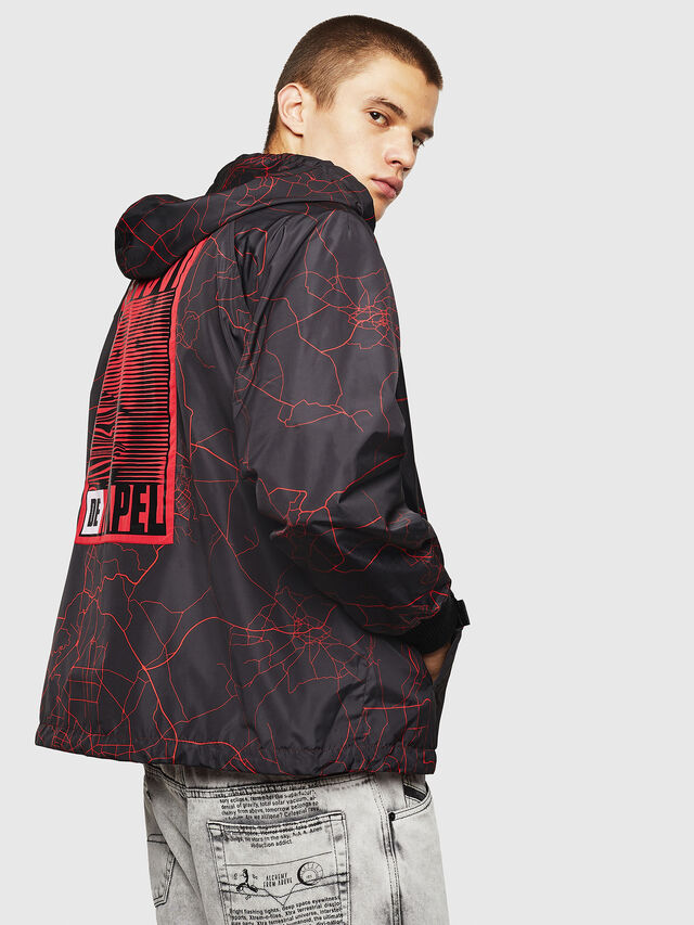 Diesel - LCP-AKI-CASA, Red - Jackets - Image 6
