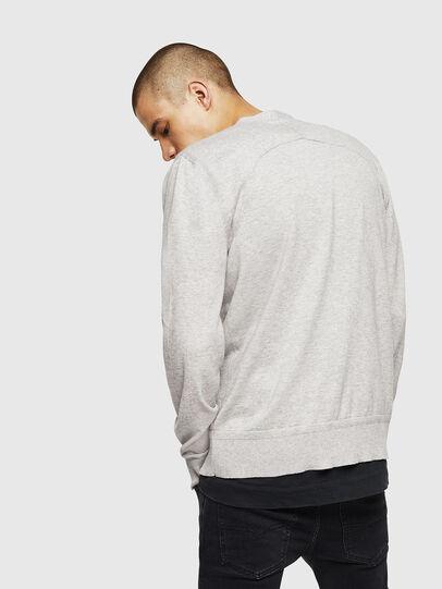 Diesel - K-MILOK, Light Grey - Knitwear - Image 2