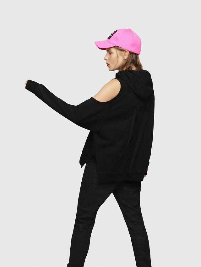 Diesel - F-NORIE, Black - Sweaters - Image 2