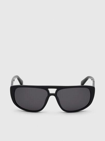 Diesel - DL0300, Black - Sunglasses - Image 1
