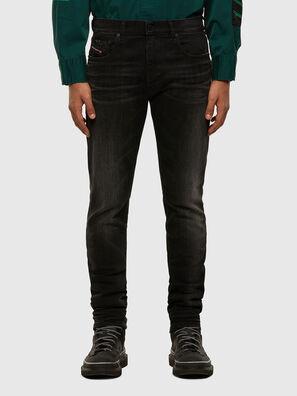 D-Strukt 0098B, Black/Dark grey - Jeans