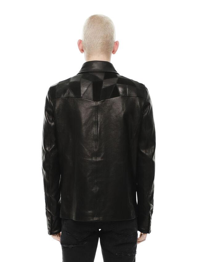 Diesel - LASTREET, Black - Leather jackets - Image 2