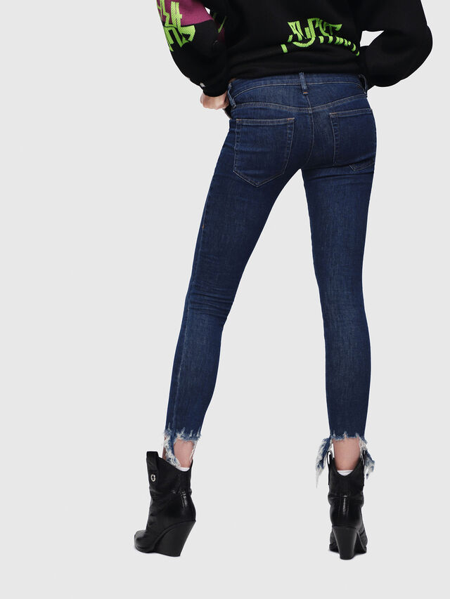 Diesel - Slandy Low 088AT, Dark Blue - Jeans - Image 2