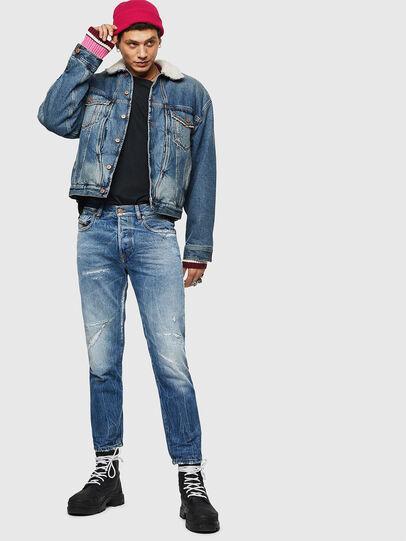 Diesel - Mharky 0078B, Light Blue - Jeans - Image 6