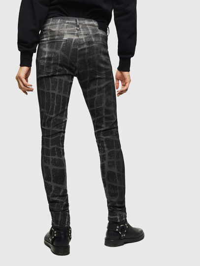 Diesel - D-Reeft JoggJeans 0094M, Black/Dark grey - Jeans - Image 2