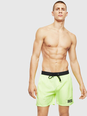 BMBX-WAVE 2.017, Green Fluo - Swim shorts