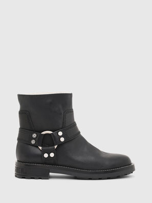 D-THROUPER AB W, Black - Ankle Boots
