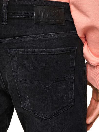 Diesel - Sleenker 0092B, Black/Dark grey - Jeans - Image 4