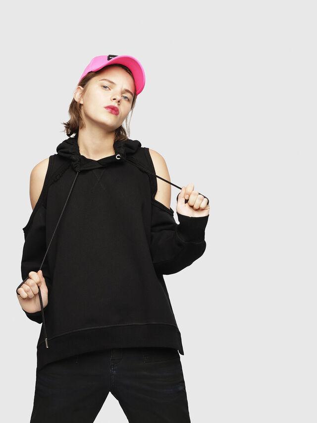 Diesel - F-NORIE, Black - Sweaters - Image 1