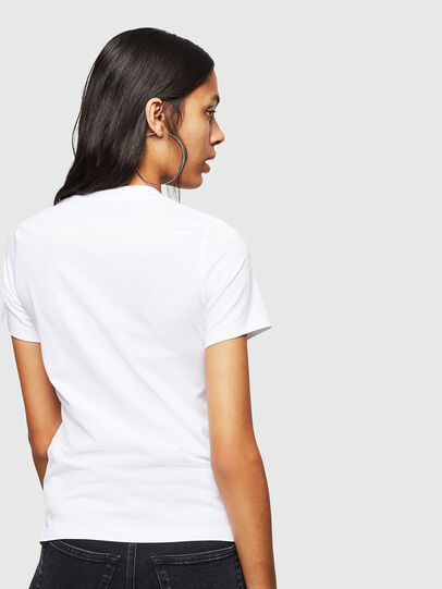 Diesel - T-SILY-WN, White - T-Shirts - Image 2
