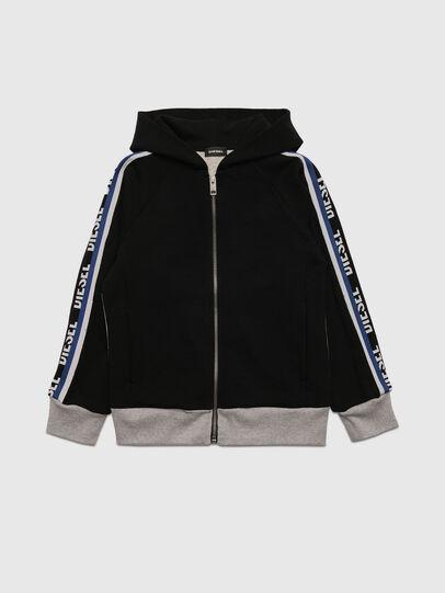 Diesel - SUITTY, Black/Grey - Sweaters - Image 1