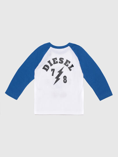 Diesel - TORAB, White/Blue - T-shirts and Tops - Image 2