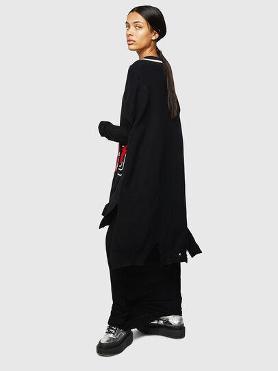 Diesel - M-LEADER, Black - Knitwear - Image 6