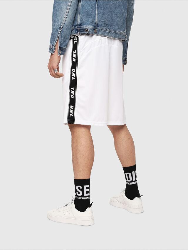 Diesel - P-HITOSHI, White/Black - Shorts - Image 2