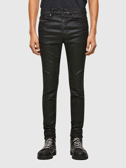 Diesel - D-REEFT JoggJeans® 069TE, Black/Dark grey - Jeans - Image 1