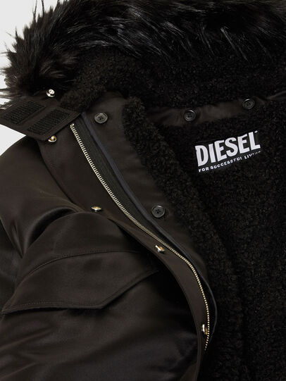 Diesel - W-URSULA-A, Black - Winter Jackets - Image 8