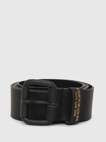 Diesel - B-NOVO, Black - Belts - Image 1
