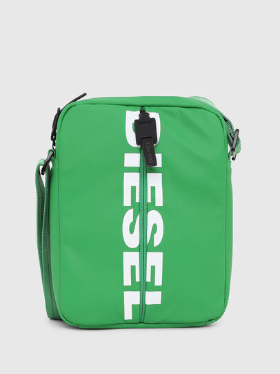 Diesel - F-BOLD SMALL CROSS, Green - Crossbody Bags - Image 1