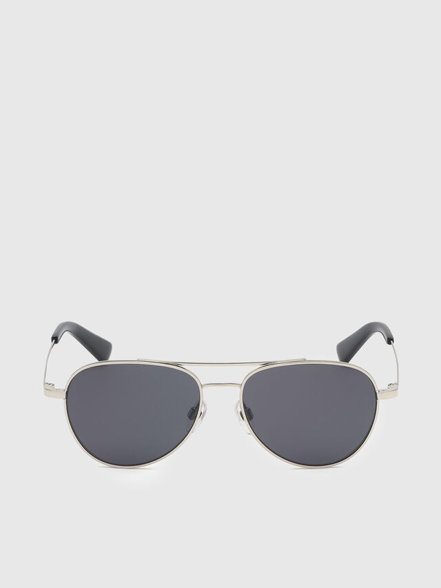 Diesel - DL0291, Silver/Black - Kid Eyewear - Image 1