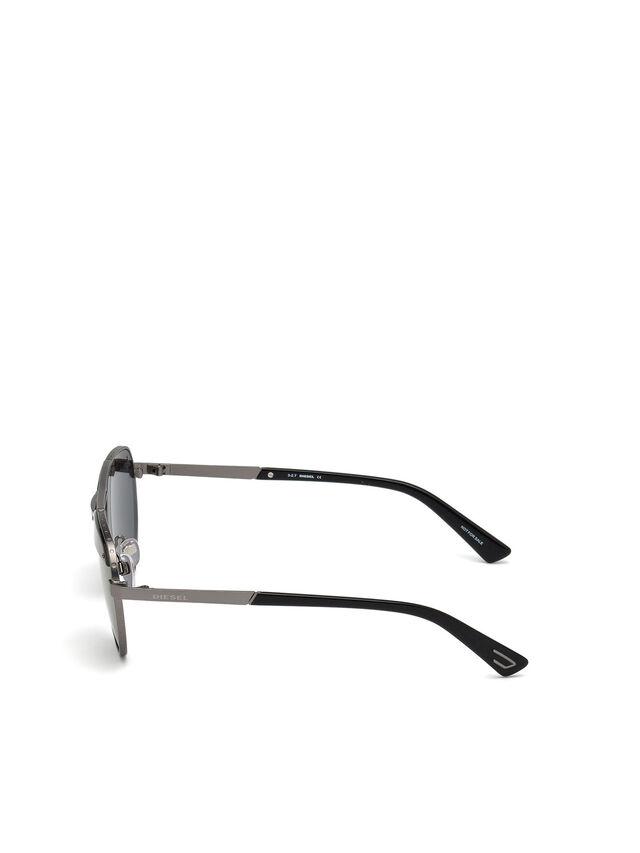 Diesel DL0261, Black/Grey - Eyewear - Image 3