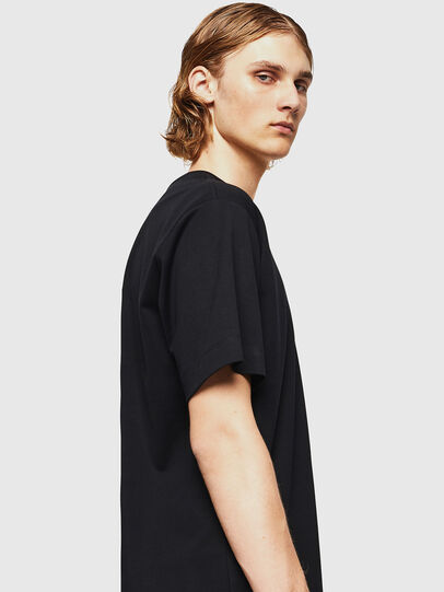 Diesel - TEORIALE-X3, Black - T-Shirts - Image 5