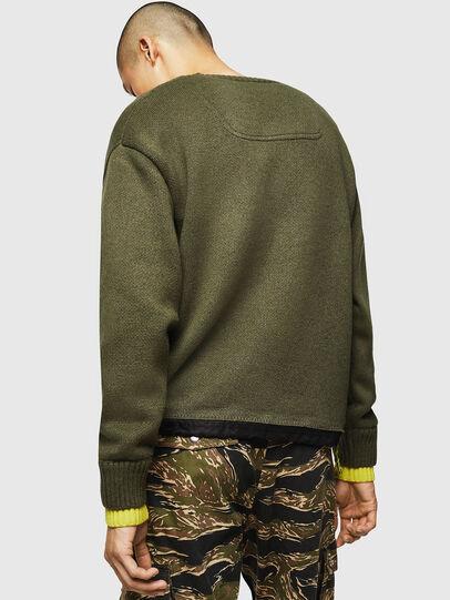 Diesel - K-PILOT, Military Green - Knitwear - Image 2